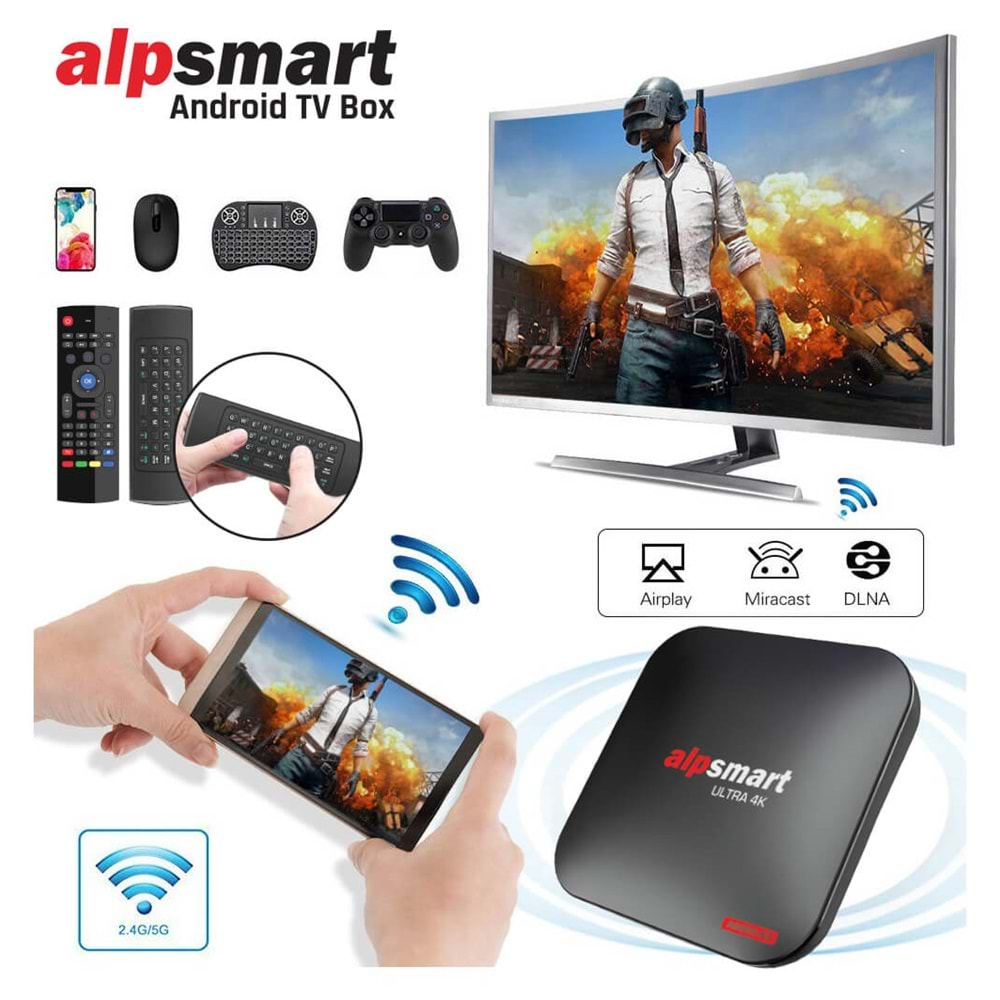 ALPSMART AS575-X3 ANDROID BOX 4-64